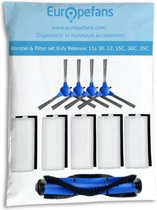 Borstel & Filter set voor Eufy Robovac 11s & Robovac 30, 12, 15C, 30, 30C, 35C