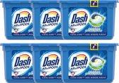 Dash - Allin1 Wasmiddel Pods - Witter dan Wit - 6 x 16 (96) pods - Voordeelverpakking - Wascapsules