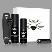 Beard Solution baardgroei kit - Baardgroei set - Baardgroei kit - Cadeau set - Cadeau voor mannen - Haargroei set - Baard serum - Baard olie - Derma roller - Haargroei olie - Verzorg set - Baard verzorging - Baard kam - Giftset