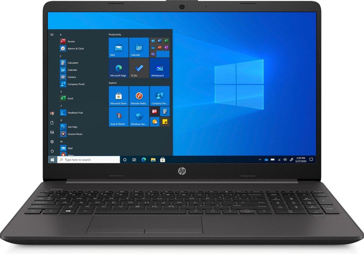 """HP 250 G8 DDR4-SDRAM Notebook 39,6 cm (15.6"""") 1366 x 768 Pixels Intel® 10de generatie Core™ i3 4 GB 128 GB SSD Wi-Fi 6 (802.11ax) Windows 10 Home Zwart"""