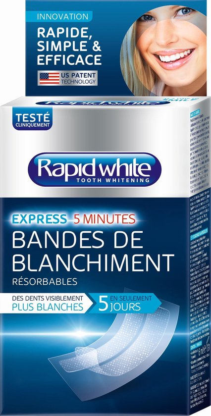Rapid White Whitening Strips
