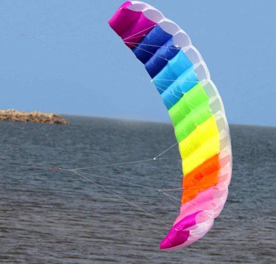 Nince Matrasvlieger van hoge kwaliteit XXL - 30 Meter - Compleet pakket - Kinder vlieger