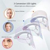 Skincare LED Masker - Gezichtsmasker verzorging – Huidverjongingsapparaat – Huidverzorging apparaat – Acne verzorging – Huidtherapie – Anti Rimpel – Draadloos – LED – Anti Age