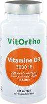 Vitortho vitamine D3 3000ie 300 st
