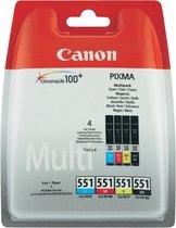 Canon inktpatroon CLI-551 CMYK 6509B008 multipak
