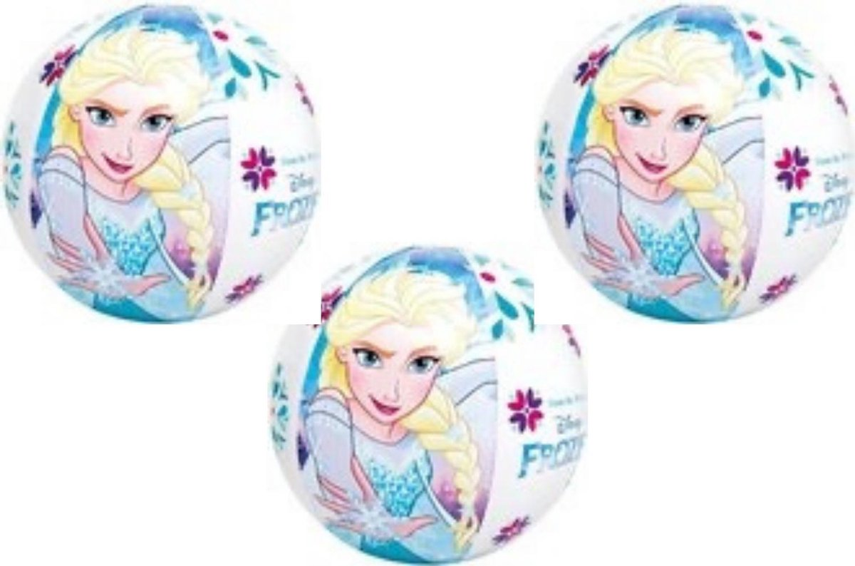 3 stuks Intex - Disney Frozen Strandbal (51cm)