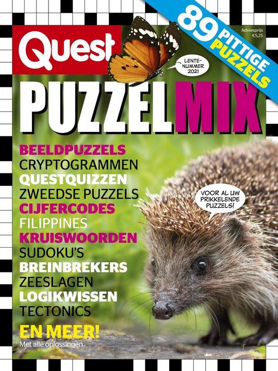Afbeelding van Quest Puzzelmix 2-2021