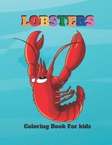 Lobsters Coloring Book For kids