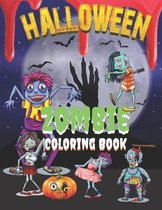 Halloween Zombie Coloring Book