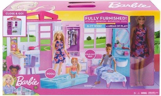 Barbie Huis met Barbiepop - Multi Color