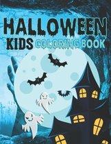 Halloween Kids Coloring Book