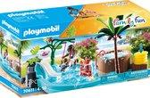 PLAYMOBIL Family Fun Kinderzwembad met whirlpool - 70611
