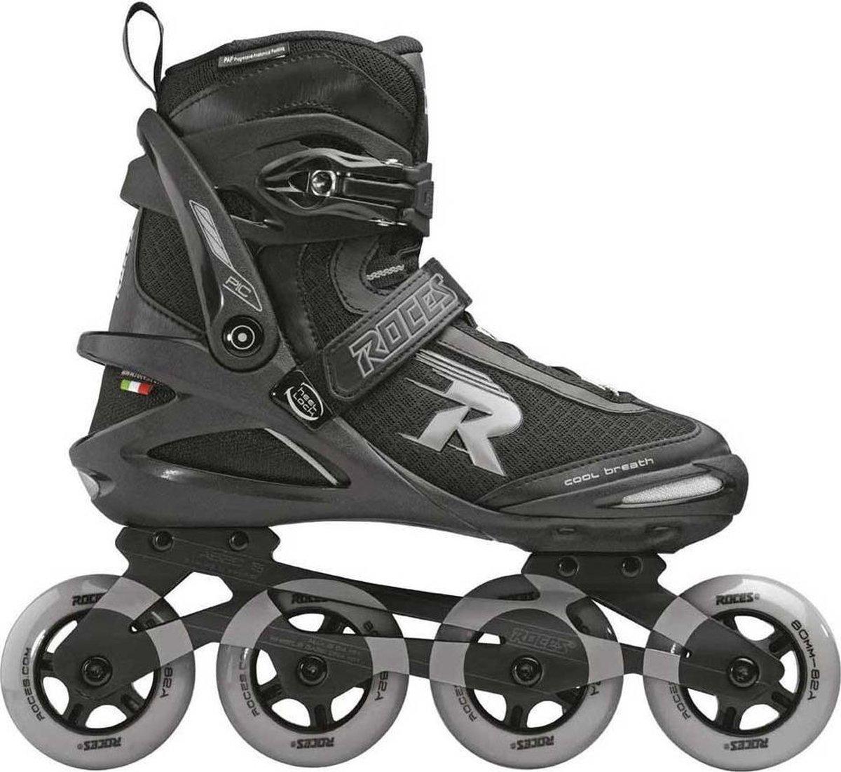 Roces Skates Pic Tif 80 Heren Maat 47 Zwart-Blauw