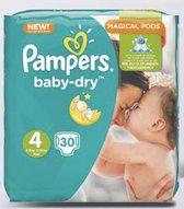 Pampers Baby Dry Mid Pack Maat 4 - 4x30 stuks