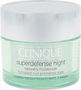 Clinique Superdefense Night Recovery Moisturizer Nachtcrème - 50 ml - Vette huid