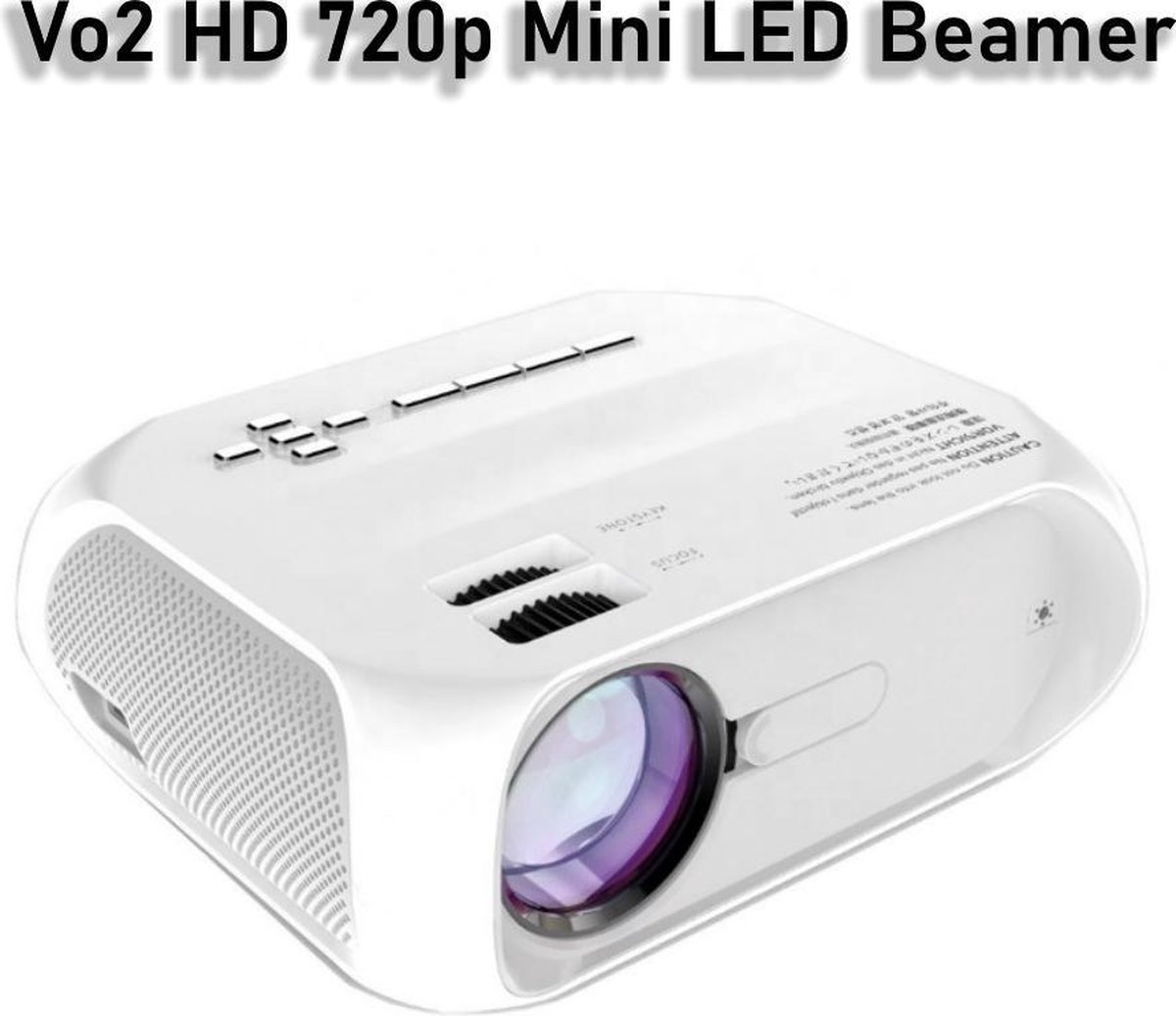 V02 HD 720p Mini LED LCD beamer - 4500 Lumens