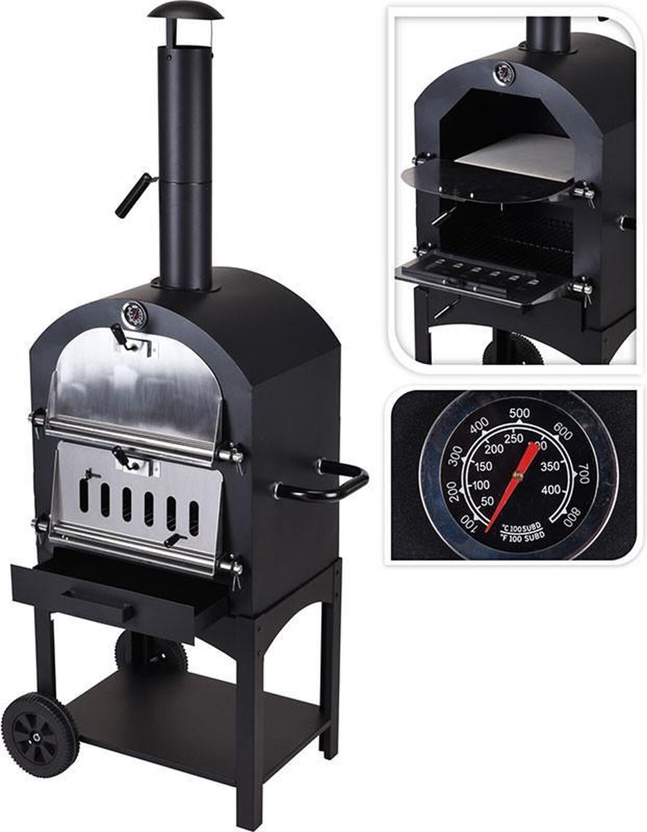 Pizza Oven / Barbecue / BBQ - Houtskool
