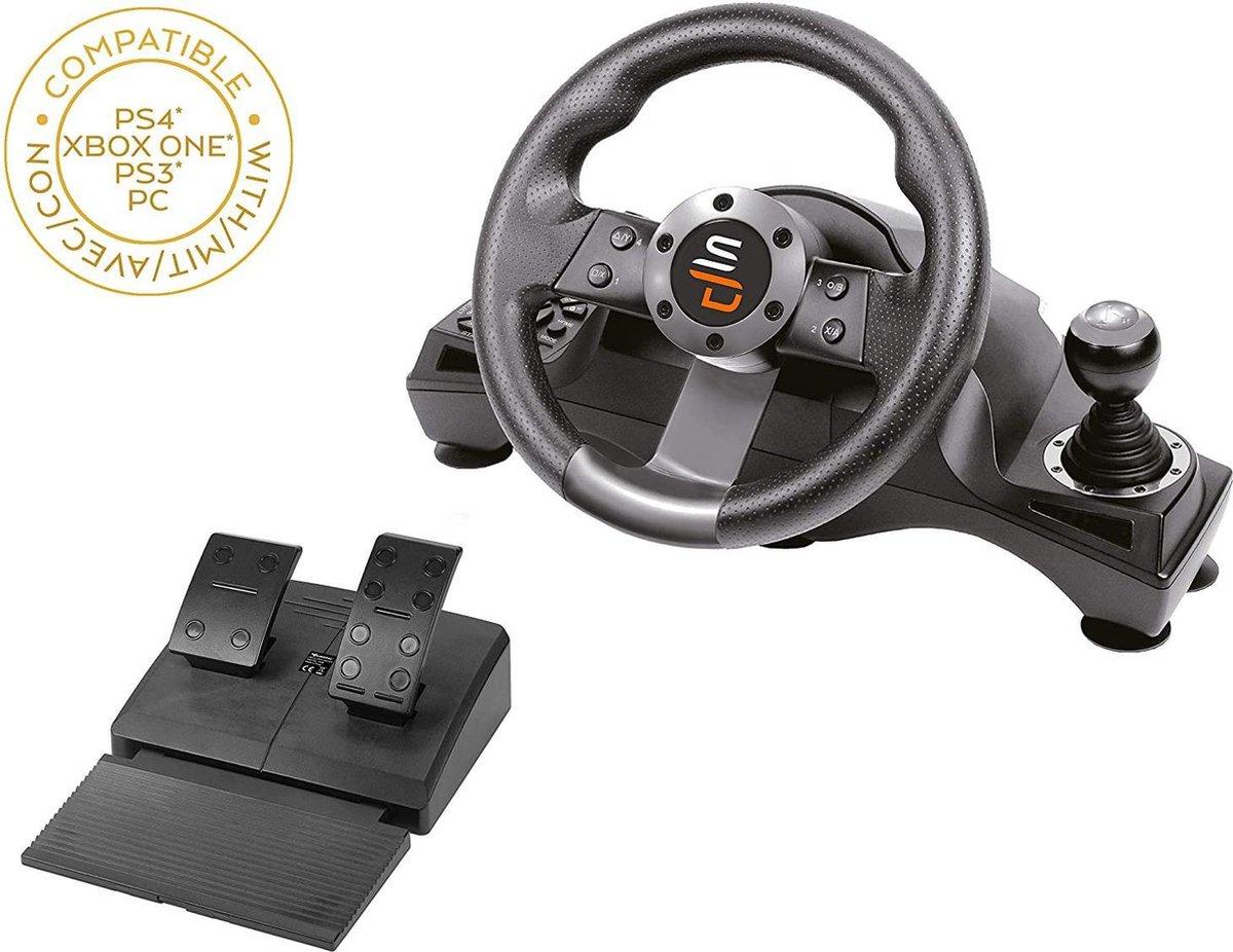 Subsonic Drive Pro Sport gamestuur met Crackstel en Versnellingshendel - GS700 - PS4 - PS5 - Xbox On