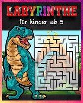 Labyrinthe Für Kinder Ab 5: dinosaurier labyrinth puzzle /dem Dinosaurier Labyrinthe Buch für Kinder (Malbücher + Labyrinthe) /Geschenke für Junge
