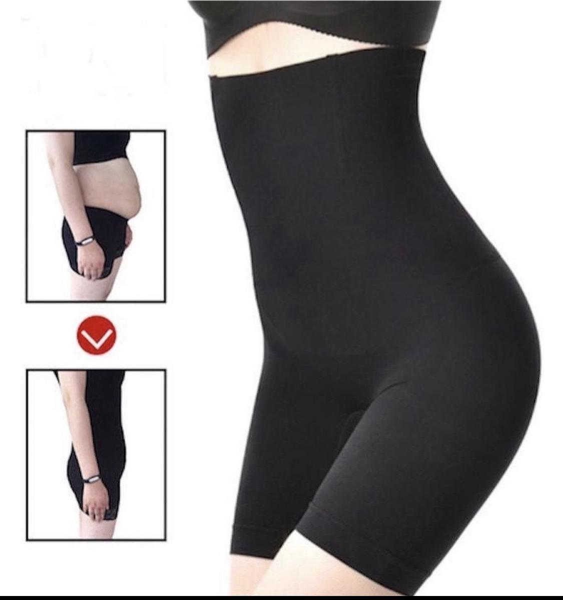 De Millennials - Shapewear voor billen, buik en dijen - corrigerend ondergoed high waist - zwart - m