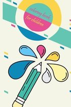 coloring book for Children: My 1st child coloring book