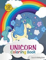 Unicorn coloring book: for kids - 100 adorable designs for boys and girls (US Edition) - Unicorn Fun Coloring Book