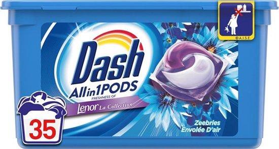 Dash Allin1 Pods Wasmiddel Zeebries - 35 Pods
