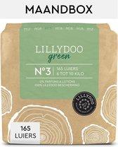 LILLYDOO green luiers - Maat 3 (6-10 kg) - 165 Stuks - Maandbox