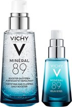 Routine Vichy Minéral 89 Booster + Oogverzorging - 2 stuks