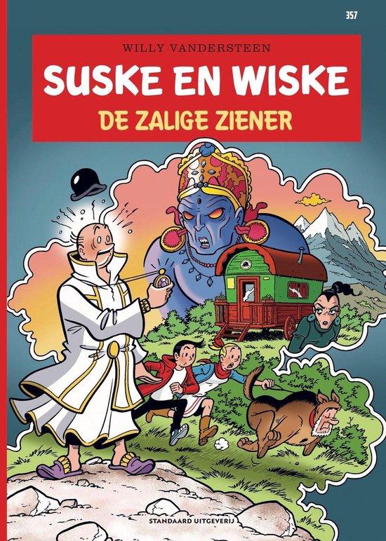Boek cover Suske en Wiske 357 -   De zalige ziener van Willy Vandersteen (Paperback)
