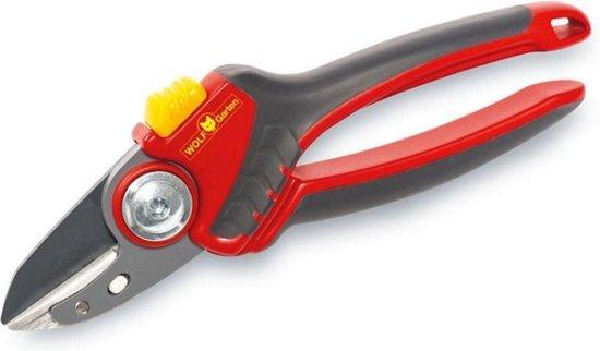 """WOLF-Garten Snoeischaar """"Premium Plus"""" RS 4000 - aambeeld - max. knipdiameter 25 mm - links- en rechtshandige - softinleg handgreep - snijhoek 30° - voor grote handen - vervangbare messen en aambeeld"""