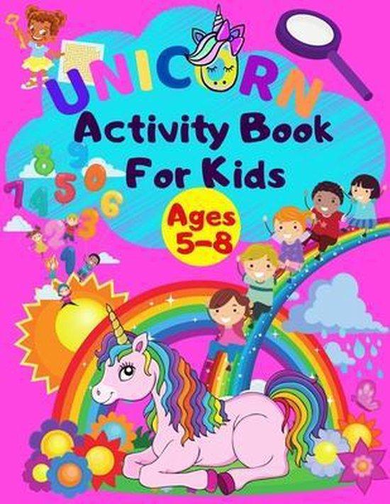 Unicorn Activity Book For Kids