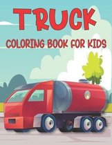 Truck Coloring Book For Kids: monster truck ( coloring book for kids )