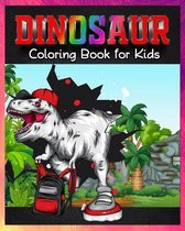 Dinosaur Coloring Book for Kids: Great Gift for Boys & Girls/ Childrens Activity Books /Kids 3-8, 6-8, Toddlers, Preschoolers