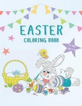 Easter Coloring Book For Kids Age 4-8: Fun Activity Book