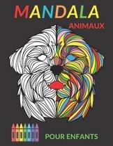 Mandala Animaux Pour Enfants: 50 mandala a colorier enfant 8 ans et plus -Coloriage Animaux - Livre de coloriage pour enfant avec animaux Mandala (L
