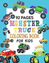 Monster Truck Coloring Book For Kids: Stunning Coloring Books For Kid