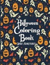 Halloween Coloring Book Ghost Adventures