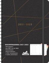 Hobbit - Docentenagenda - Goudenstrepen met zwart - 2021 / 2022 - week per 2 pagina's - +/- A4 - Ringband