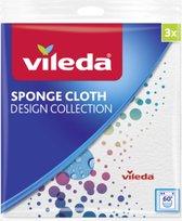 Vileda Doeken Sponge Cloth Design X3