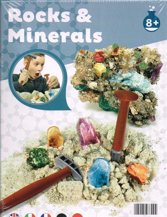 Thumbnail van een extra afbeelding van het spel stenen en mineralen kit/ vanaf 8 jaar/ rocks & minerals/