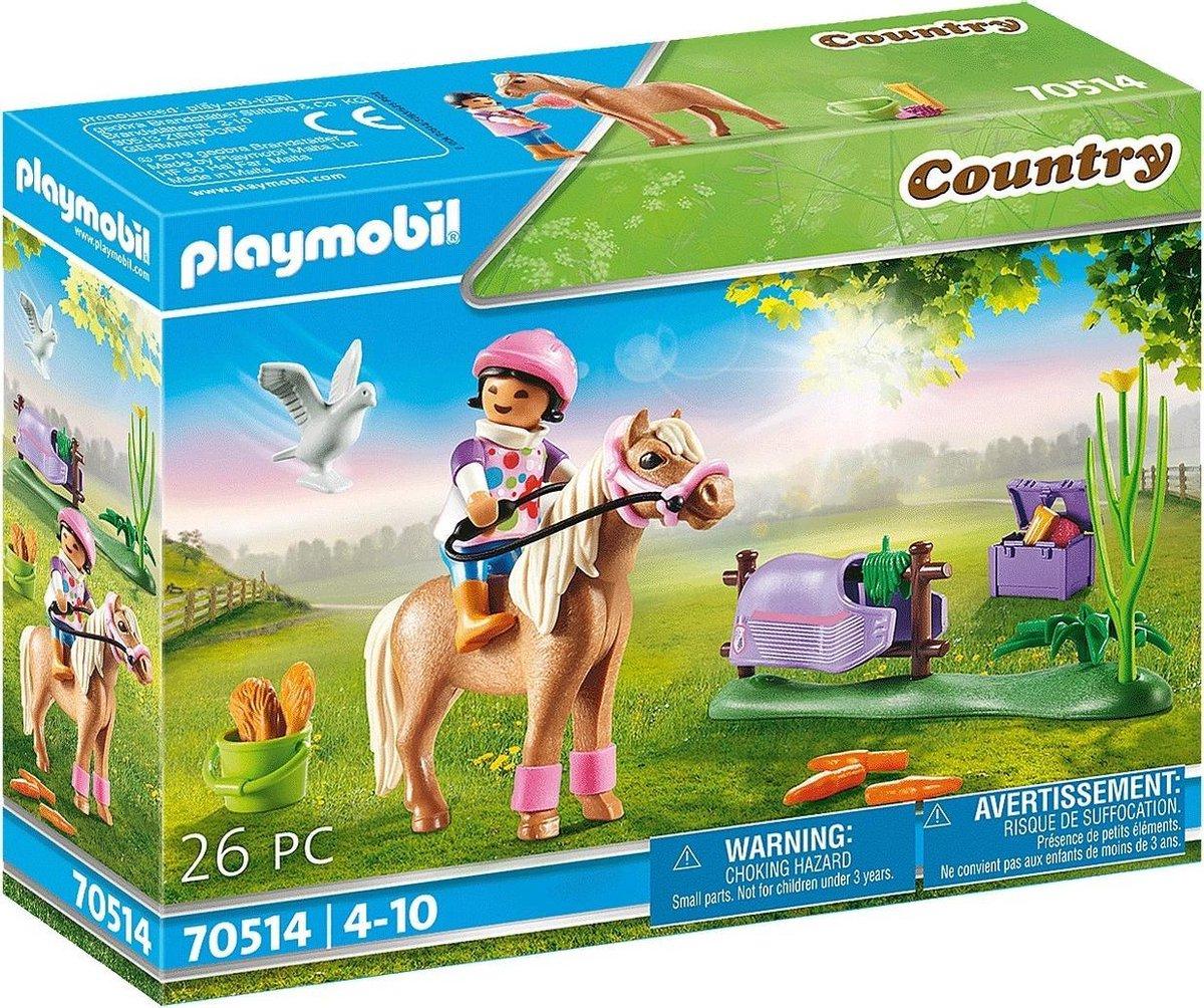 PLAYMOBIL Country Verzamelpony 'Ijslander' - 70514