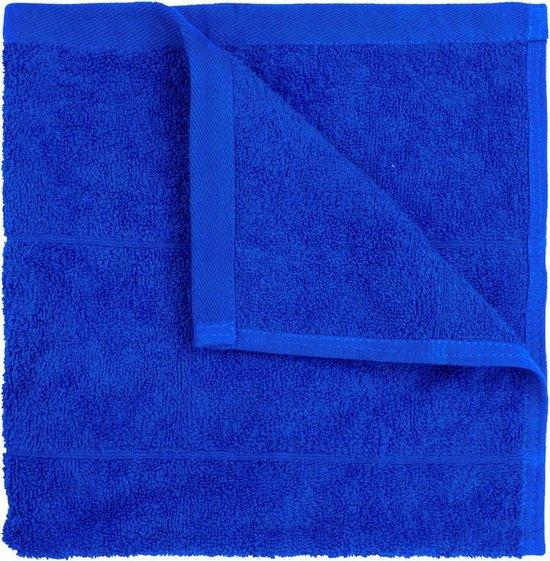 I2T Keukendoeken 50x50 cm - Set van 4 - Royaal blauw - 500 gr/m²