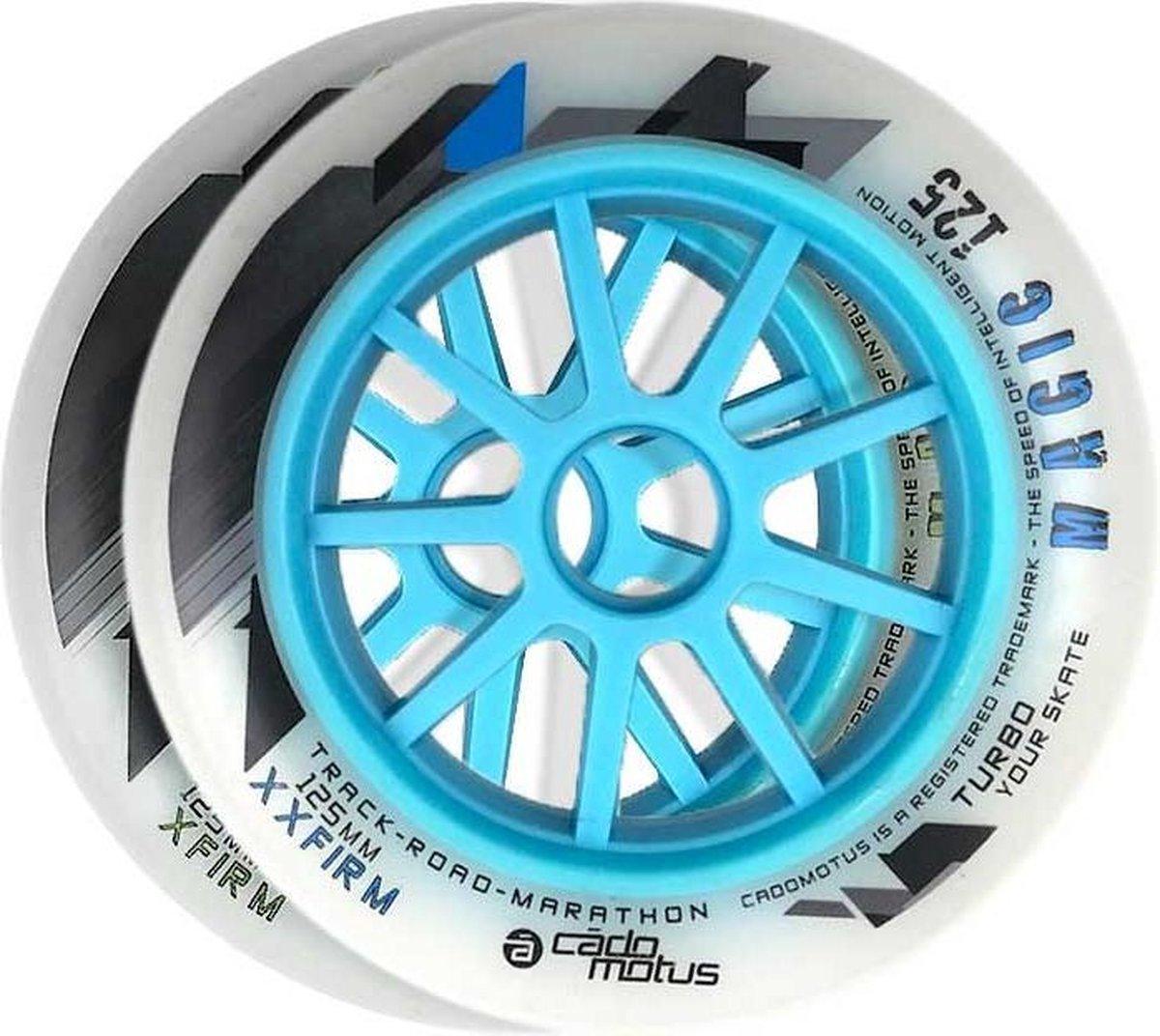 Magic 125 XF inline skate wiel