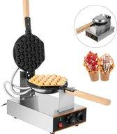 Kookpro - Professioneel Bubbel Wafel / Bubble Waffle Maker Wafelijzer - bubbel wafelijzer bubbelwafel ijzer bubbelwafel maker