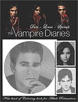 The Vampire Diaries Dots Lines Spirals