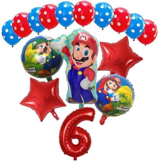 Super Mario - ballon set - thema - ballonnen - 6 jaar