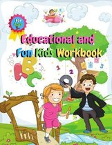 Educational and Fun Kids Workbook