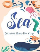 Sea Coloring Book For Kids