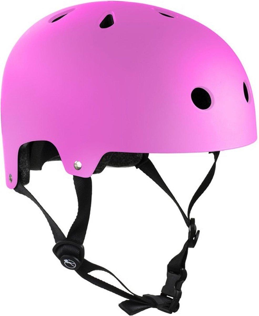 Skatehelm Essentials roze maat: 57-59cm